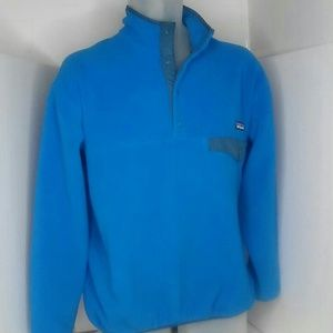 Patagonia snap-t fleece pullover blue size large